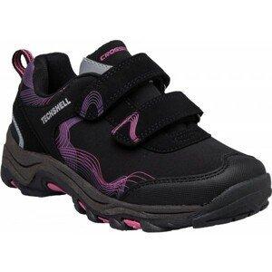 Crossroad TOBI fialová 31 - Dětská treková obuv