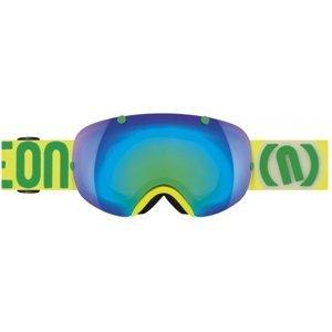Neon BREAK žlutá NS - Lyžařské brýle