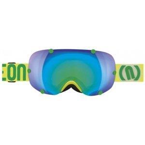 Neon OUT žlutá NS - Lyžařské brýle