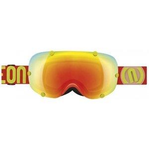 Neon OUT červená NS - Lyžařské brýle