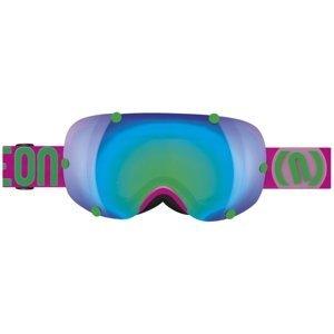 Neon OUT růžová NS - Lyžařské brýle