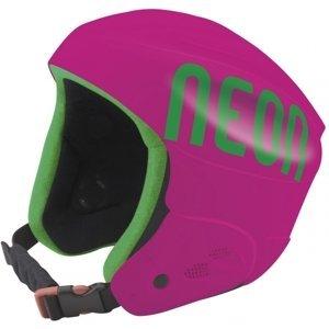 Neon HERO růžová 54 - Lyžařská helma