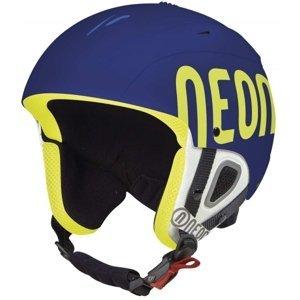 Neon LUNAR modrá 56 - Lyžařská helma