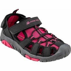 ALPINE PRO EAKY růžová 28 - Dětská letní obuv