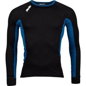 Swix STARX BODYW LS M černá XXL - Pánské fuknční spodní prádlo