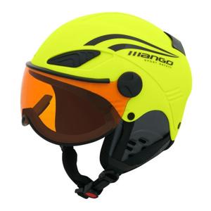 Mango ROCKY PRO žlutá (53 - 55) - Dětská sjezdová helma