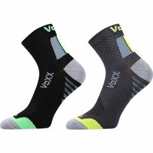 Voxx 2PACK KRYPTOX černá 23-25 - Unisexové ponožky