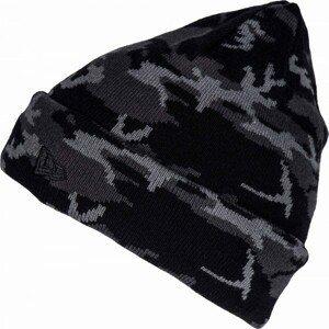 New Era CAMO CUFF šedá UNI - Pánská zimní čepice