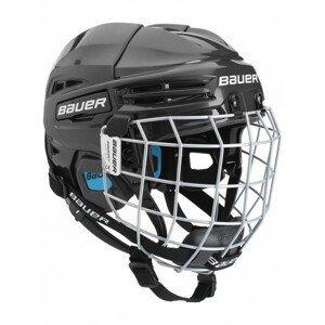 Bauer PRODIGY COMBO YTH černá (48 - 53,5) - Dětská helma s mřížkou