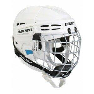 Bauer PRODIGY COMBO YTH bílá 48-53,5 - Dětská helma s mřížkou