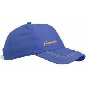Finmark DĚTSKÁ LETNÍ ČEPICE modrá UNI - Letní dětská sportovní čepice