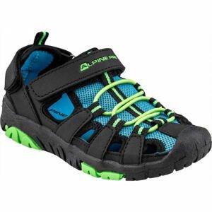 ALPINE PRO EAKY modrá 33 - Dětská letní obuv