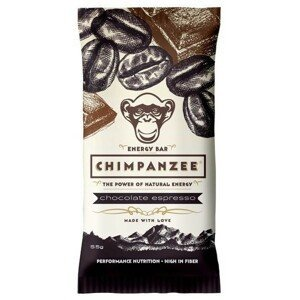 Chimpanzee ENERGY BAR CHOCOLATE ESPRESSO 55 G  NS - Energetická tyčinka