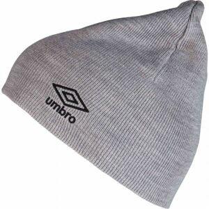 Umbro BEANIE šedá UNI - Zimní čepice