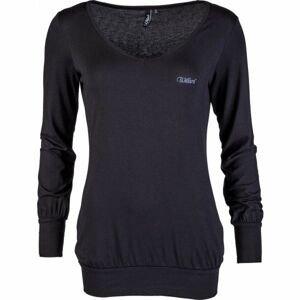 Willard SANSA černá XL - Dámské triko s dlouhým rukávem