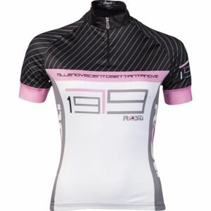 Rosti GESSATO LADY KR ZIP bílá L - Dámský cyklistický dres