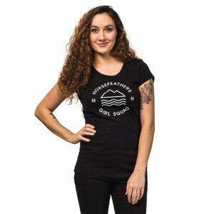 Horsefeathers SALLY TOP černá XS - Dámské tričko