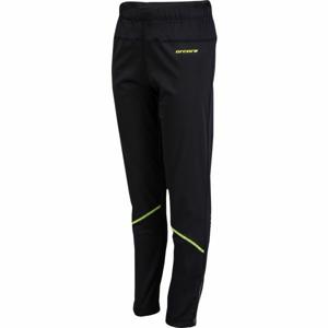 Arcore BALIN zelená 152-158 - Dětské běžecké kalhoty