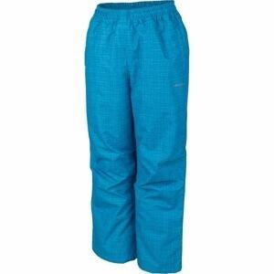 Lewro NOY modrá 128-134 - Dětské zateplené kalhoty