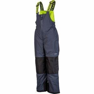 Lewro NIMA šedá 116-122 - Dětské zateplené kalhoty