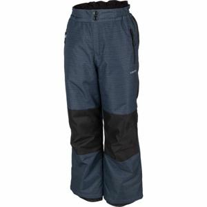 Lewro NUR šedá 128-134 - Dětské lyžařské kalhoty