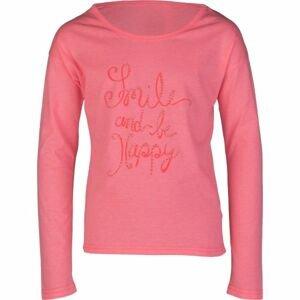 Lewro LORI růžová 164-170 - Dívčí triko