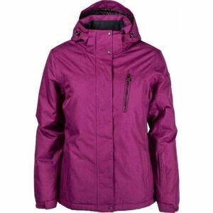 Willard QUANNA růžová XL - Dámská lyžařská bunda