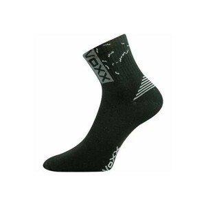 Voxx CODEX černá 26-28 - Unisex ponožky