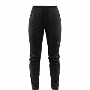 Craft GLIDE W černá S - Dámské zateplené softshellové kalhoty