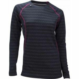 Ulvang 50FIFTY 2.0 W černá M - Dámské funkční vlněné triko