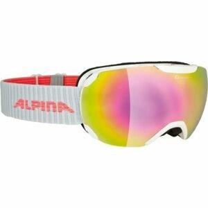 Alpina Sports PHEOS S MM bílá NS - Unisex lyžařské brýle