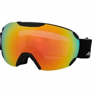 Alpina Sports PHEOS QVMM černá NS - Unisex lyžařské brýle