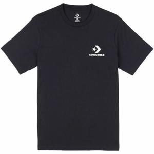 Converse LEFT CHEST STAR CHEVRON TEE černá L - Pánské triko