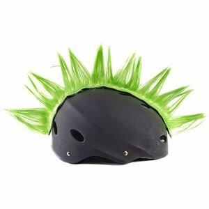 Crazy Ears ČÍRO WIGGYSTYLE zelená  - Kohout na helmu