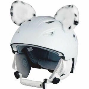 Crazy Ears LEVHART SNĚŽNÝ bílá  - Uši na helmu