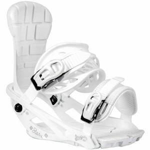 TRANS STAR W bílá M - Dámské snowboardové vázání