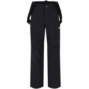 Loap LEWRY černá 146-158 - Dětské softshellové kalhoty