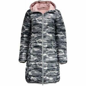 ALPINE PRO WENZHA 3 šedá S - Dámský kabát