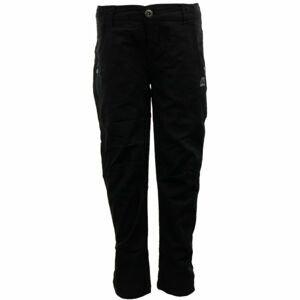 ALPINE PRO LIGHTO černá 116-122 - Dětské kalhoty