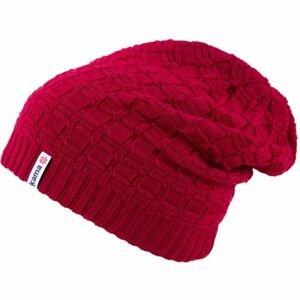 Kama ČEPICE MERINO červená UNI - Pletená čepice