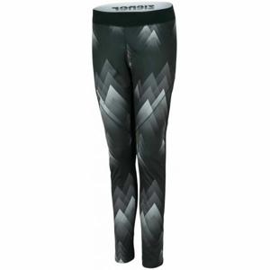Ziener NURA BLACK černá 42 - Dámské zimní kalhoty