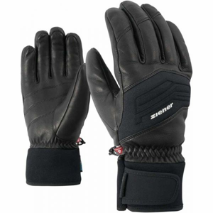 Ziener GOWON AS PR BLACK černá 10.5 - Pánské lyžařské rukavice