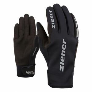 Ziener URS GWS BLACK černá 8 - Běžecké rukavice