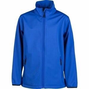 Kensis RORI JR modrá 164-170 - Chlapecká softshellová bunda