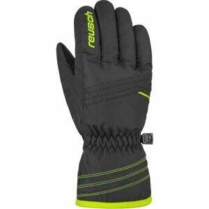 Reusch ALAN JR žlutá 5.5 - Dětské lyžařské rukavice