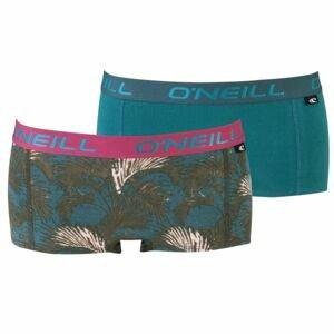 O'Neill HIPSTER WITH DESIGN 2-PACK růžová L - Dámské spodní kalhotky
