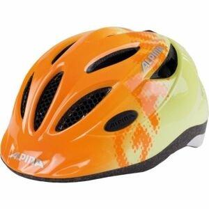 Alpina Sports GAMMA 2.0 oranžová (46 - 51) - Dětská cyklistická přilba
