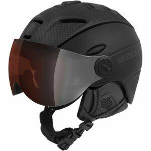 Etape COMP PRO černá (55 - 56) - Unisex lyžařská přilba s visorem