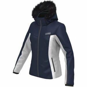 Colmar SKI JACKET ECO FUR tmavě modrá XL - Dámská lyžařská bunda