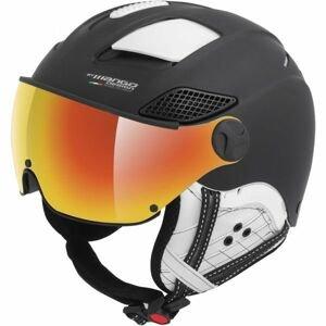 Mango MONTANA PRO+ černá (60 - 62) - Unisex lyžařská přilba s visorem